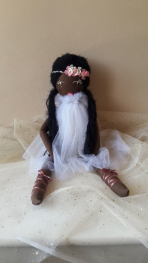 Poupée de chiffon Maliha princesse Africaine