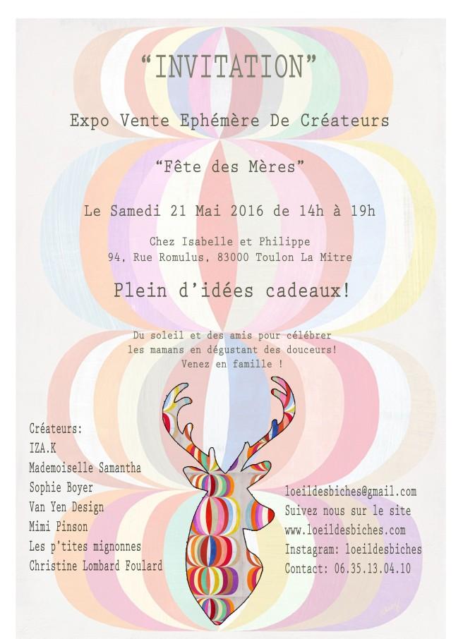 Invitation fete des meres 2016 v2